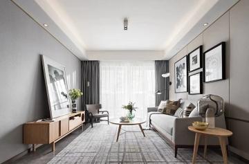 98平三室北欧风格装 ...