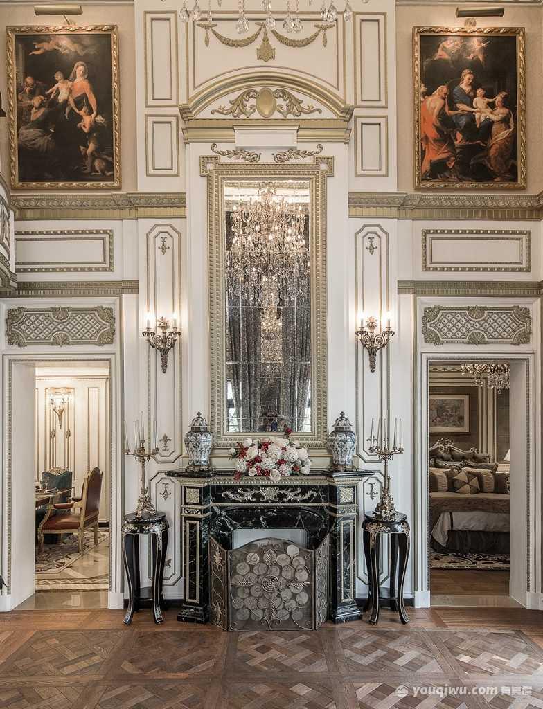 博颐城一期169平四室古典欧式风格装修效果图