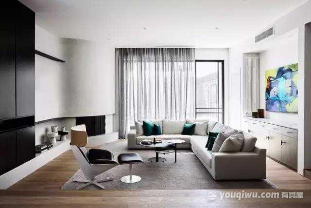 现代风格三居室,许来日方长