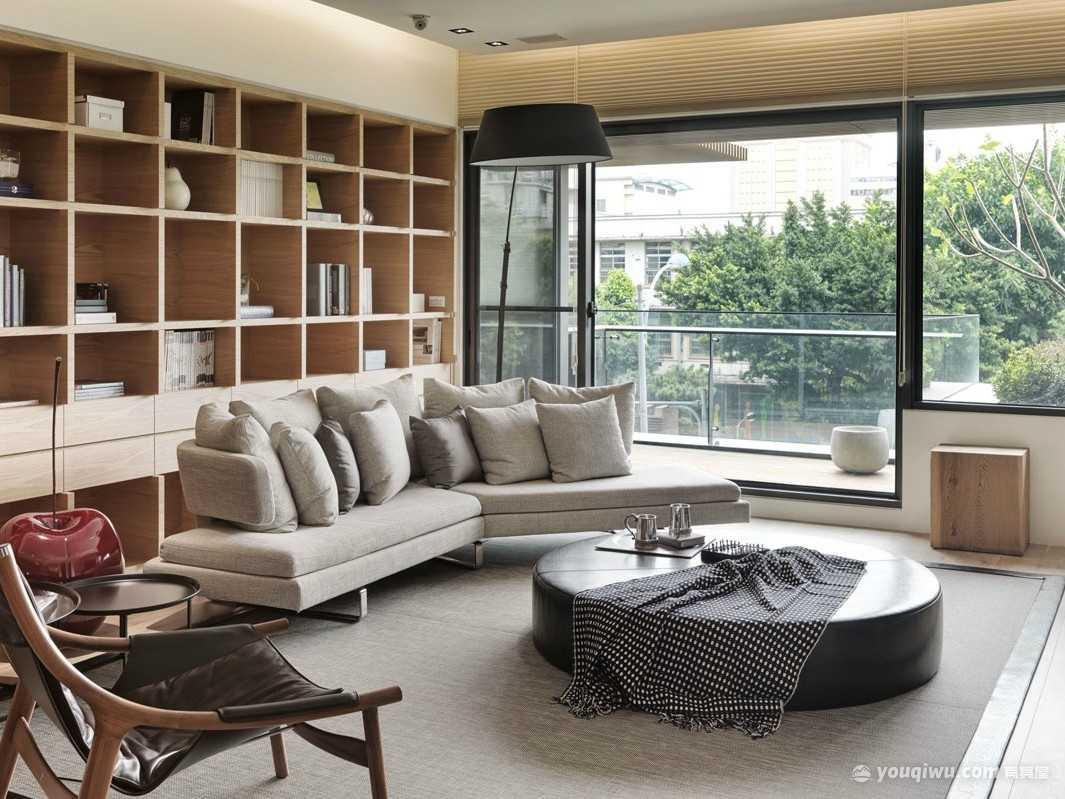 广福小区一区158平四室日式风格装修效果图