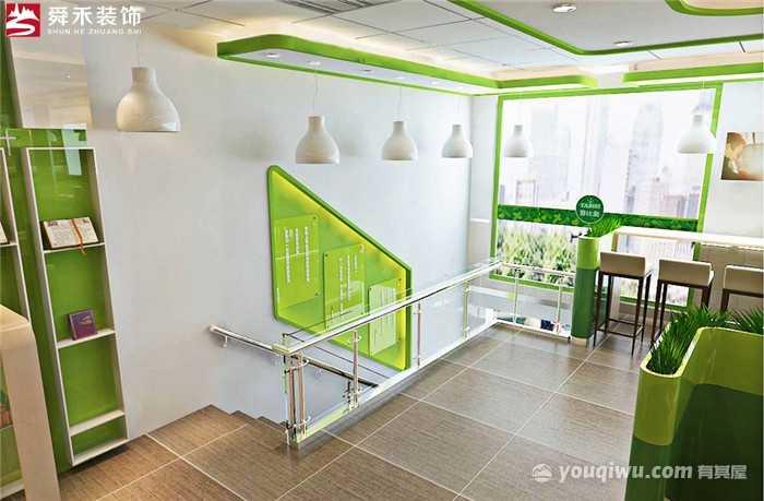 淄博中式快餐店连锁店餐厅设计装修公司