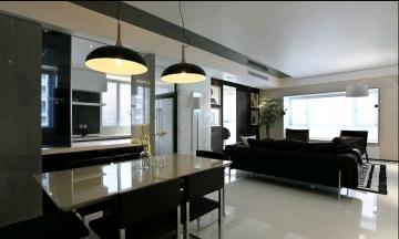 120平三室现代装修效 ...
