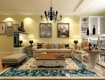 90平二室美式风格装修