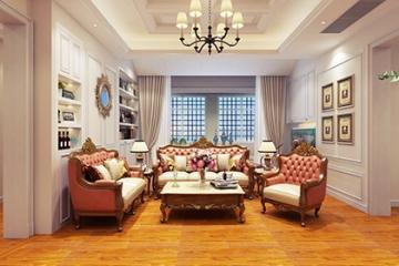 120平二室美式风格装 ...