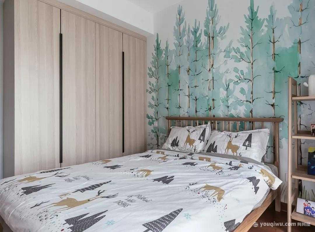 140平三室北欧风格装修