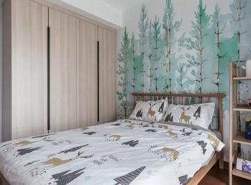 140平三室北欧风格装 ...