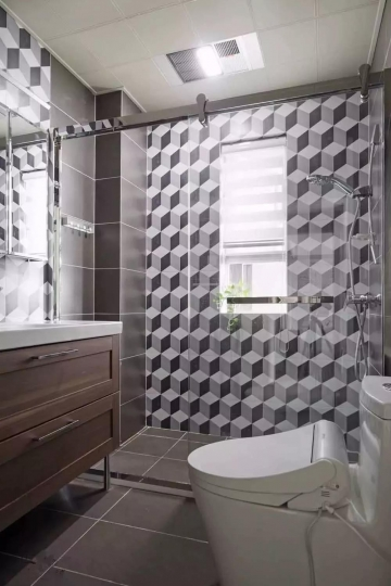 125平三室北欧风格装 ...