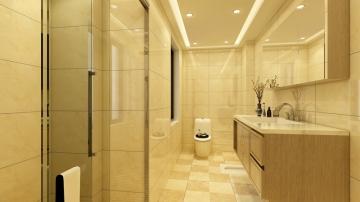 唐宁公馆 138平米新中式风格装修案例