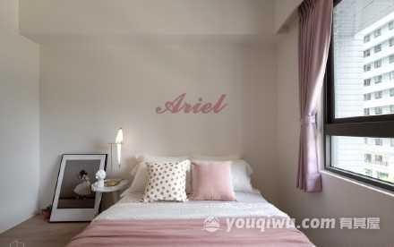 120平三室简欧风格装修案例