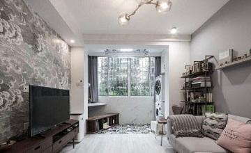 50平米简约单身公寓你要来一套吗?