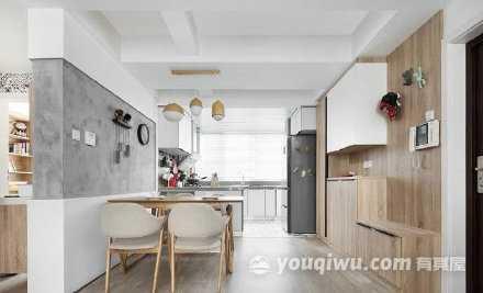 简约现代日式单身公寓