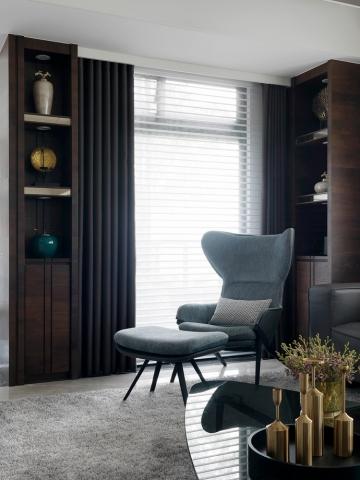140平四室新中式风格装修案例