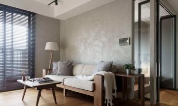80平三室现代风格装修案例