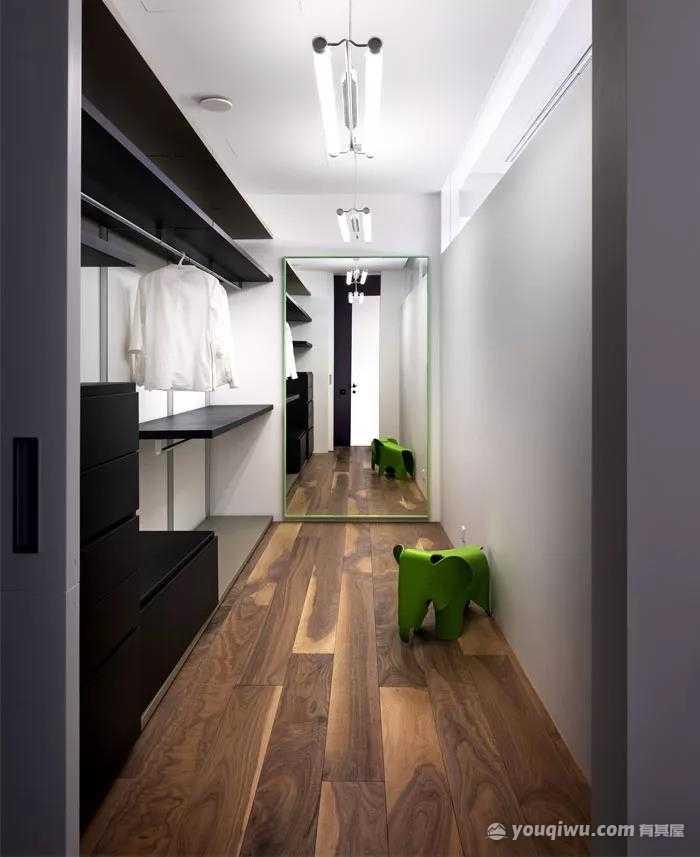 89平二室北欧风格装修案例