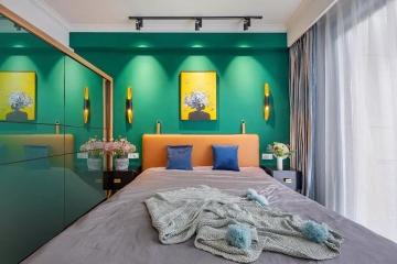 89平二室混搭风格装修案例