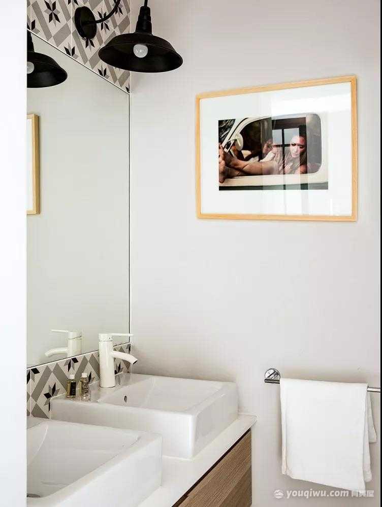 100平三室北欧风格装修案例