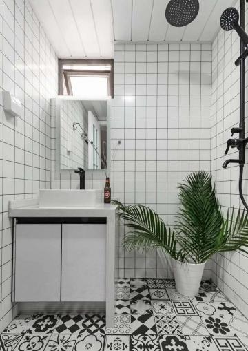 彩蝶湾90平三室现代风格装修案例