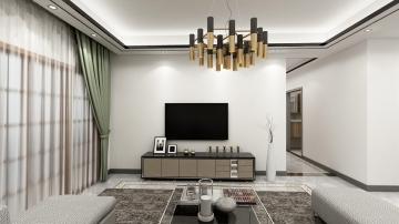 双壁湾128平三室现代简约风格装修效果图