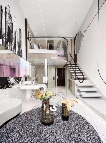 二室现代风格装修案例