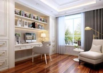 御河灣小區90平三室現代風格裝修案例