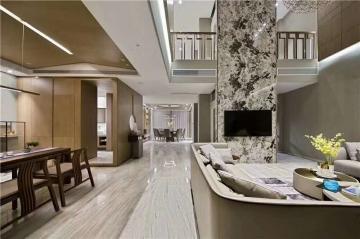 别墅新中式风格装修案例