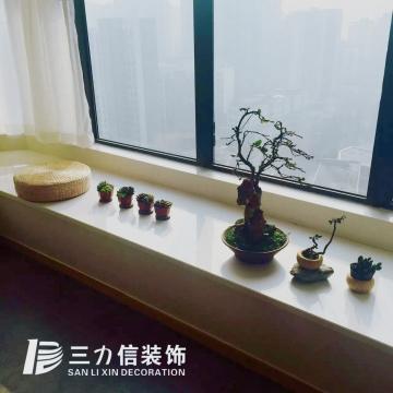 融景城清新三室日式風格裝修案例