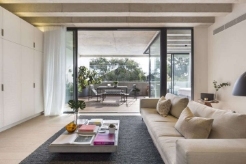 120平三室工业风格装 ...