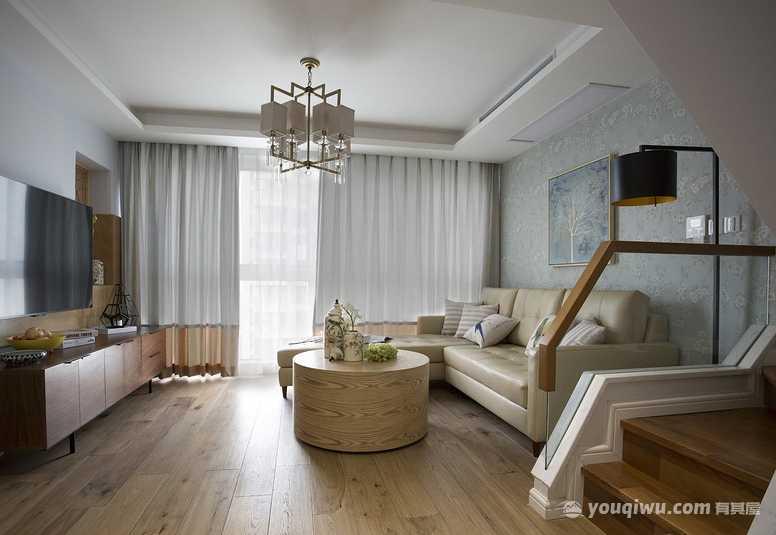 120平三室現代風格裝修案例
