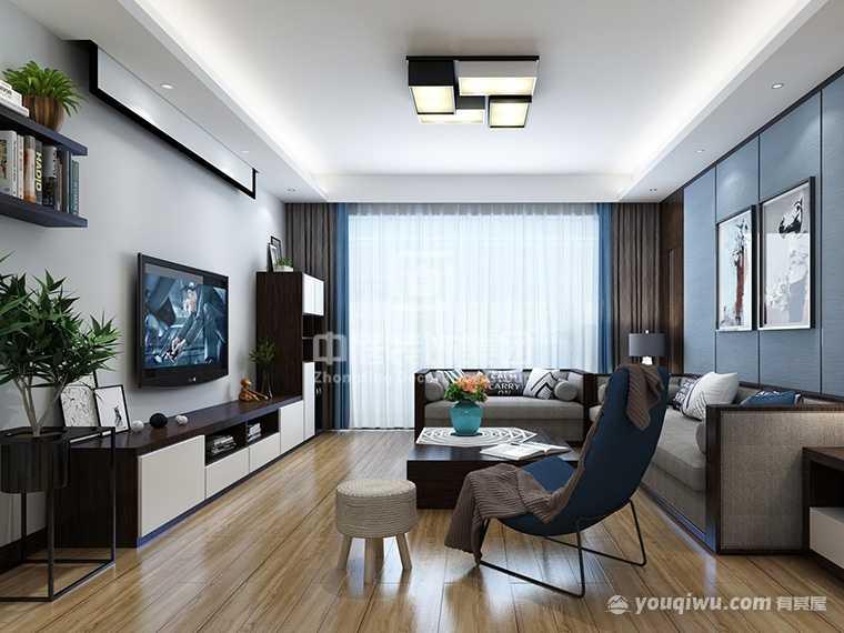 碧桂园·天玺湾新中式风格案例