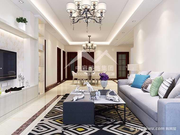 华南城江南华府120平四室现代简约风格装修案例