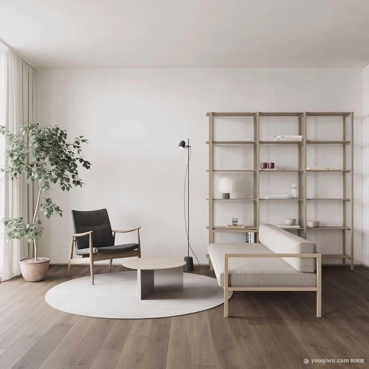 47平小户型北欧风格装修案例