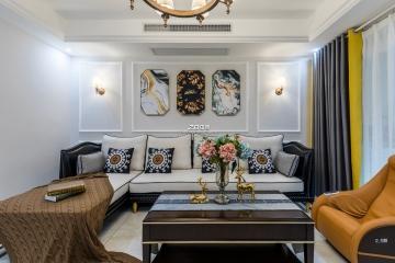 130平三室美式风格装修案例