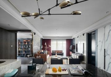 99平2室古典现代装修效果图
