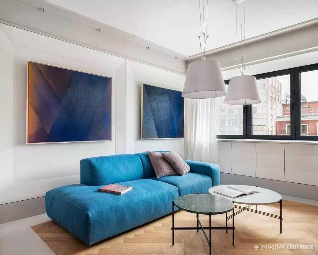 现代风格三居■室,贯穿古典与现代的永〖恒