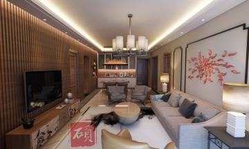 新中式四居室