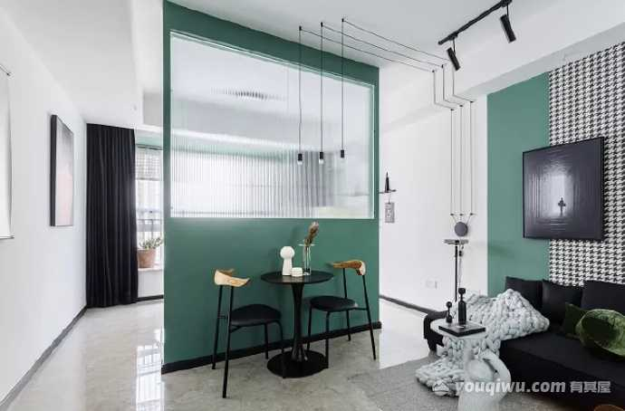 現代家裝隔斷設計