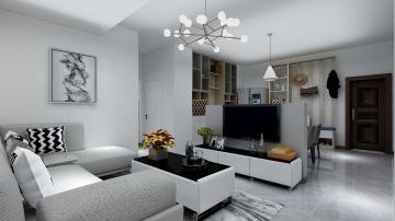蓝光金双楠 新中式二居室90平10.3万