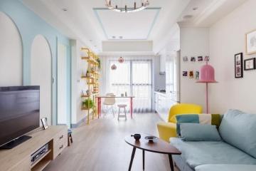 马卡龙色系家装设计,打造浪漫家居