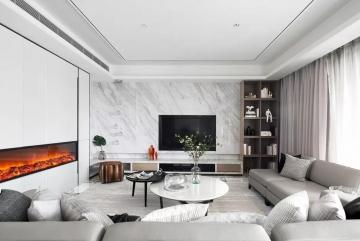 兴元绿洲 现代三居室150平17万