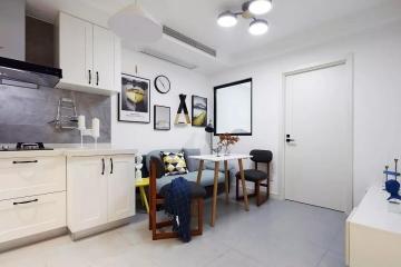 恒雨后现代城 简约二居室80平9.2万