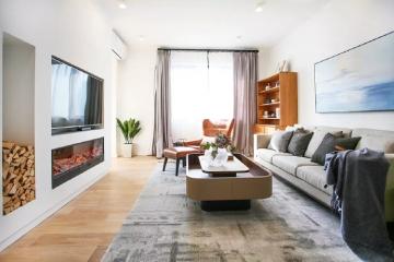 130平现代简约风复式设计,舒适慵懒的生活空间