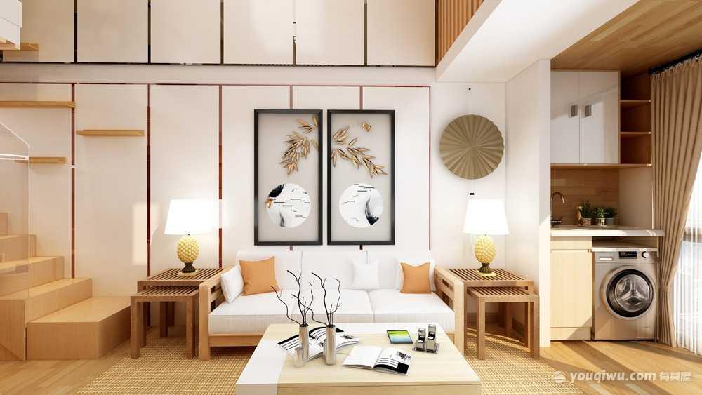 51平方日式风格一居室造价7万
